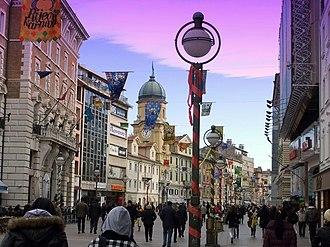 Rijeka - Main street Korzo