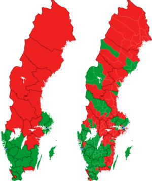 Rigsdagsvalget i Sverige 1973 i valgkredse og kommuner.png