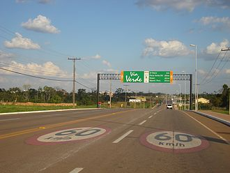 Rio Branco, Acre - Via Verde ring road
