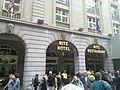Ritz damaged in 2011 protest.jpg
