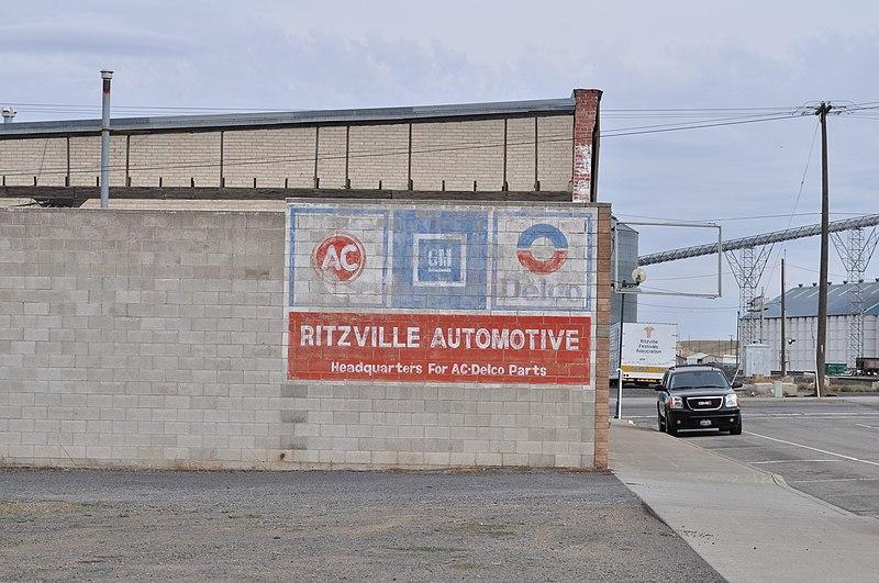 File:Ritzville, WA - Ritzville Automotive 01.jpg