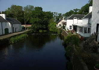 Bridgend, Islay - Image: River Sorn, Bridgend, Islay
