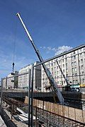 Road work above Highway A6B in Le Kremlin-Bicetre 2011 12.jpg