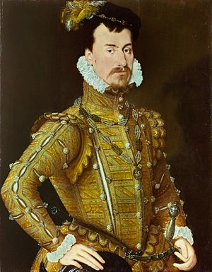 Earl of Leicester - Robert Dudley, created Earl of Leicester in 1564.