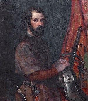Robert Scott Lauder - Self-portrait in 17th-century costume