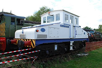 Electric Railway Museum, Warwickshire - Image: Robert Stephenson & Hawthorn 7284 (6250860062)