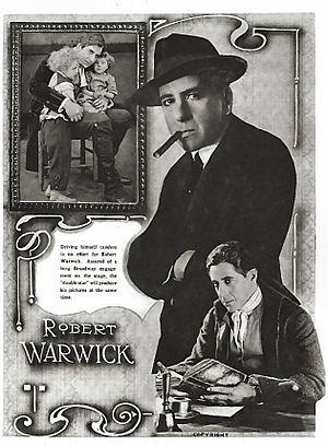 Robert Warwick - Motion Picture Classic Magazine 1915
