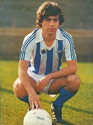 Roberto López Ufarte - López Ufarte as a Real Sociedad player