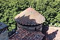 Rocchetta mattei, esterno, copertura torretta 01.jpg