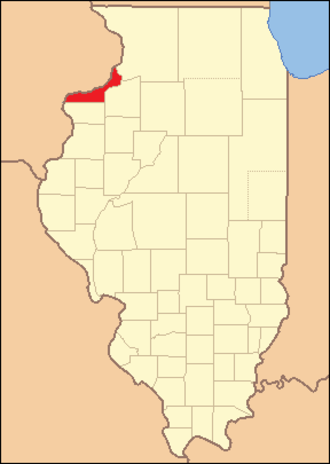 Rock Island County, Illinois - Image: Rock Island County Illinois 1831
