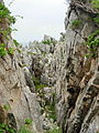 Rock formation along the Romantic Road at the east coast of South Korea.jpg