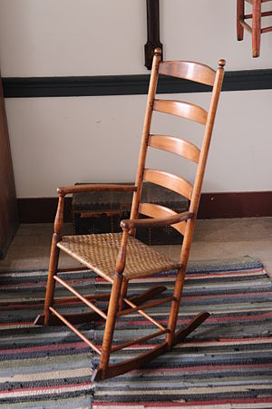 Shaker furniture - Image: Rocker in the Shaker Village at Pleasant Hill