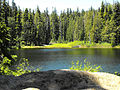 Rogue–Umpqua Divide Wilderness lake.jpg