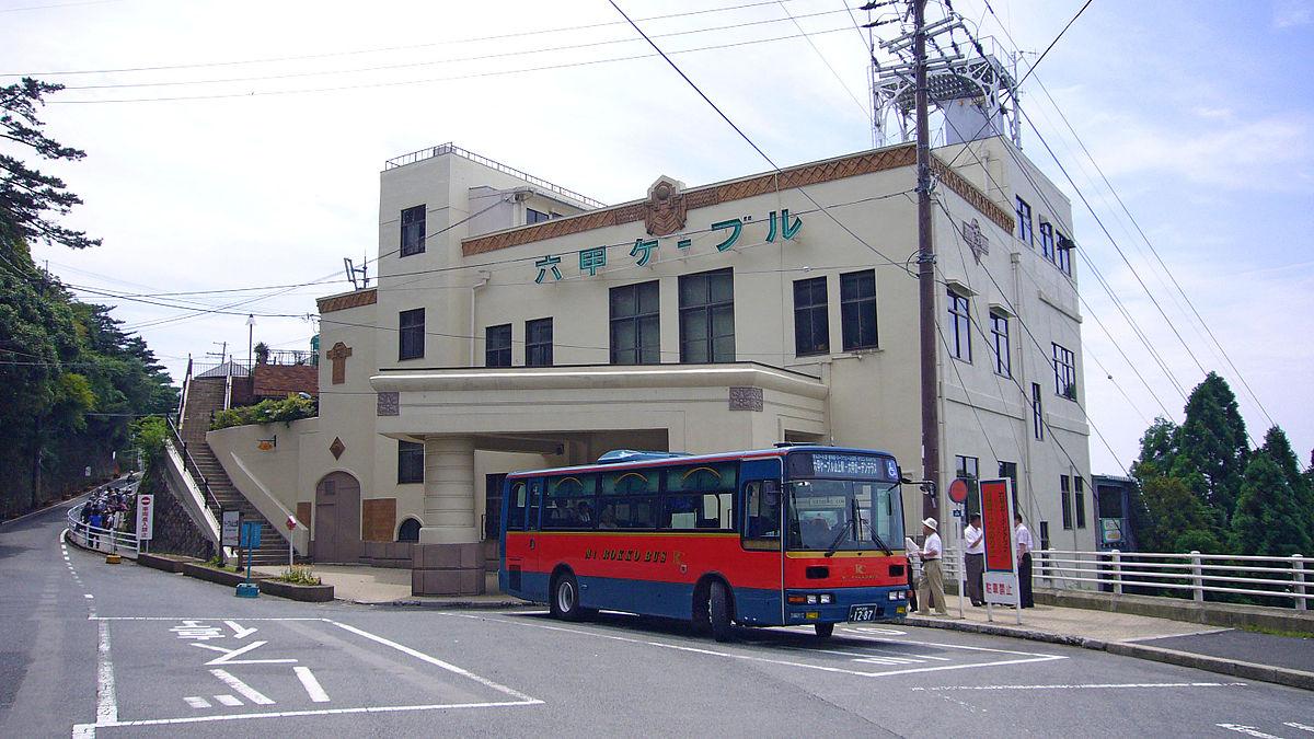 ケーブル カー 六甲山