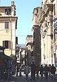 Rom, die Straße Via della Lungaretta.JPG