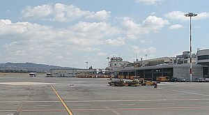 Ciampino–G. B. Pastine International Airport - Apron view