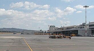 Ciampino–G. B. Pastine International Airport - Apron view