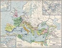 El Imperio Romano y sus vecinos en el siglo II.