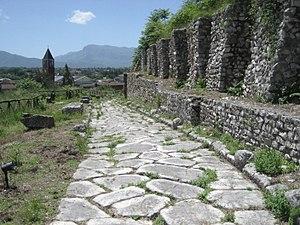 Casinum - Via Latina through Casinum