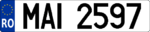 Romanian MAI numberplate.png