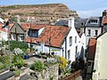 Rooftops with Cowbar Nab in the background - geograph.org.uk - 695830.jpg