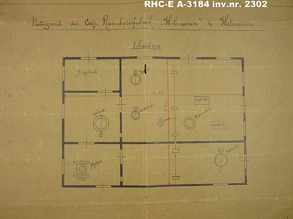 Roomboterfabriek Helenaveen circa 1907 P1040948.JPG