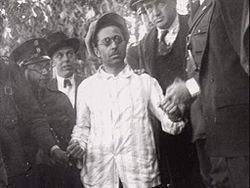 Roscigna en Montevideo detenido por la policía.