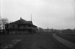 Rosedale field clubhouse in 1921