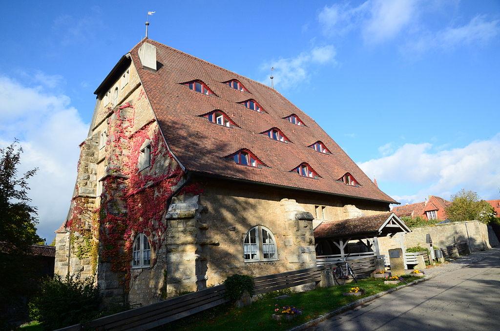 Rothenburg ob der Tauber Mühlacker 1 Roßmühle-002
