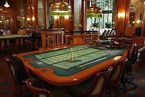 Roulette-Tisch in der Spielbank Wiesbaden