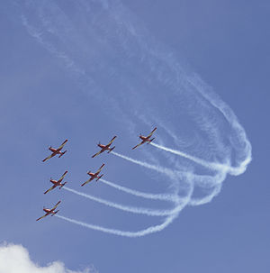 Roulettes - One of the manoeuvres they perform
