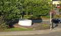 Roundabout dedicated to Caerphilly cheese.png