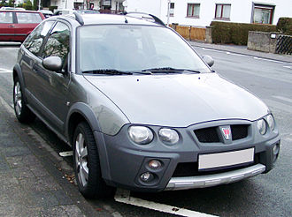 Rover Streetwise - Image: Rover Streetwise front 20071212