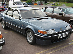 Rover sd1 club day at the British motoring her...