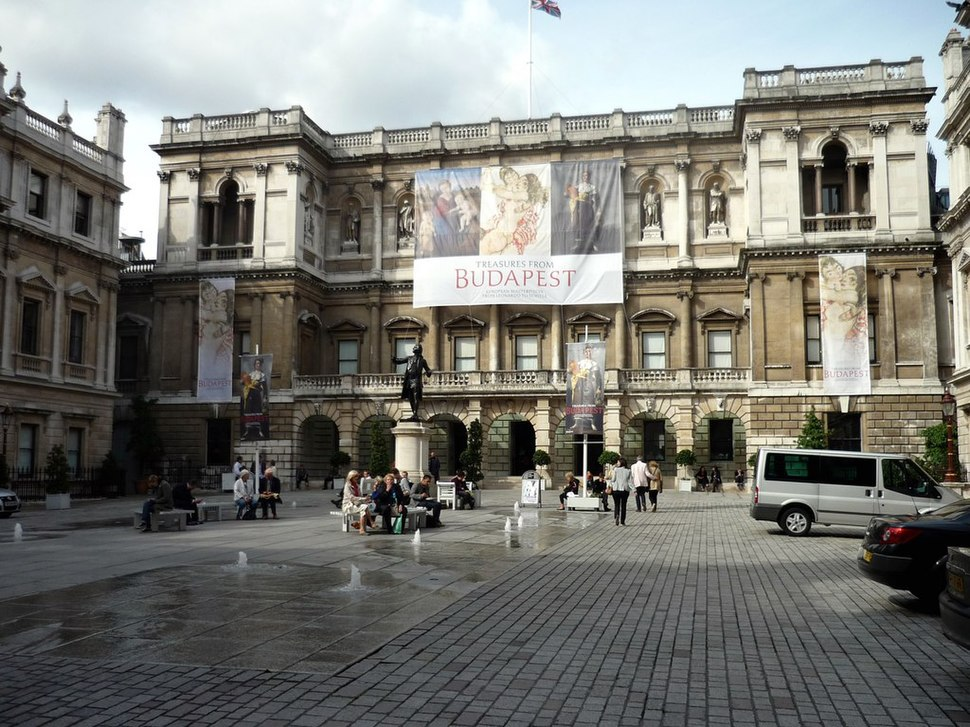 Royal Academy of Arts, Burlington House, Piccadilly-geograph-2090231