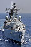 Royal Navy Type 22 Frigate HMS Cumberland MOD 45152199.jpg