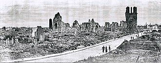 Ypres - Ruins of Ypres – 1919
