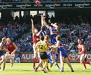 Australian rules football was developed in Victoria in the late 1850s and is played at amateur and professional levels. It is the most popular spectator sport in Australia, in terms of annual attendances and club memberships.
