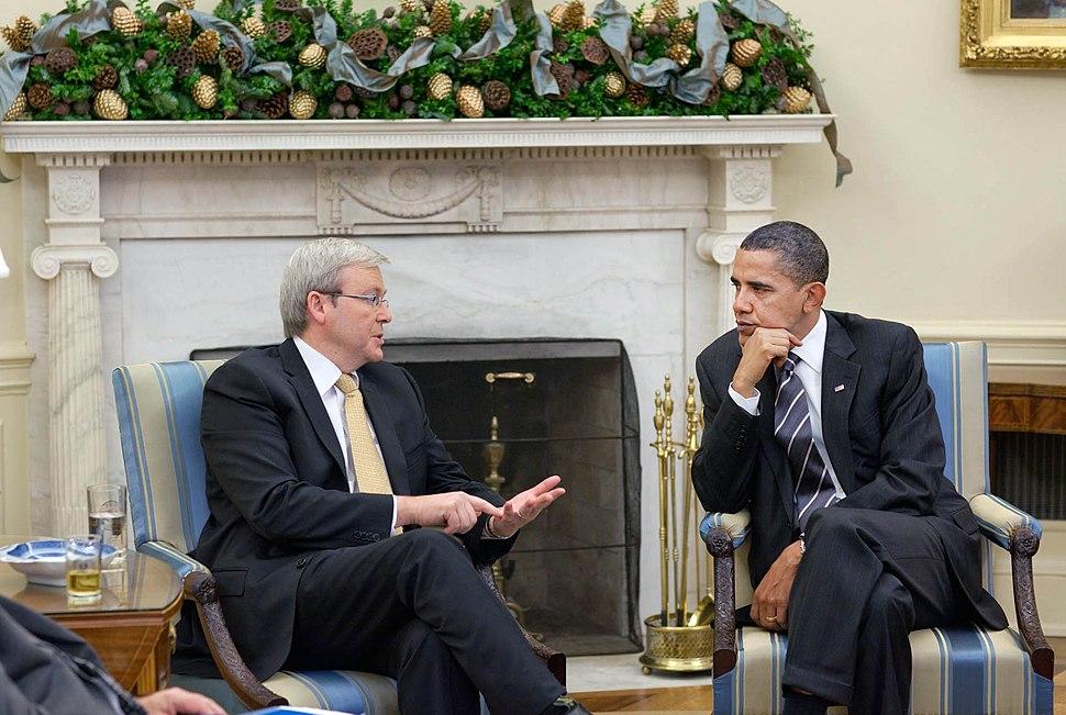 Rudd & Obama