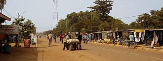 Koudougou - Street in Koudougou