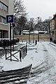 Rue du Repos (Paris) sous la neige 01.jpg
