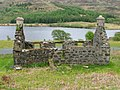 Ruined Cottage, Overlooking Loch Meadhoin - geograph.org.uk - 194499.jpg