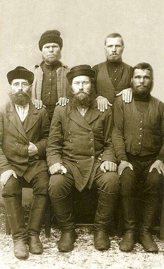 Pomors - Pomors in a pre-revolutionary photograph