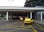Ruzyně, letiště, terminál 2, stanoviště taxi.jpg