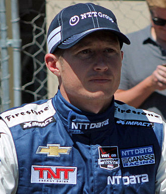 Ryan Briscoe - Briscoe at the Sonoma Raceway in August 2014