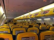 Cabina di un Boeing 737-800 utilizzata fino al 2016