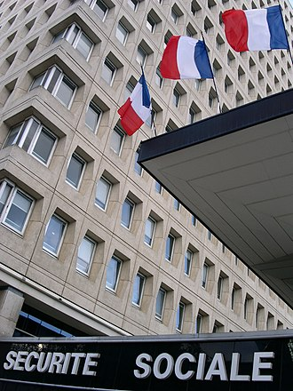 Social security in France - A building of the Sécurité Sociale in Rennes