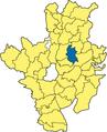 Söchtenau - Lage im Landkreis.png