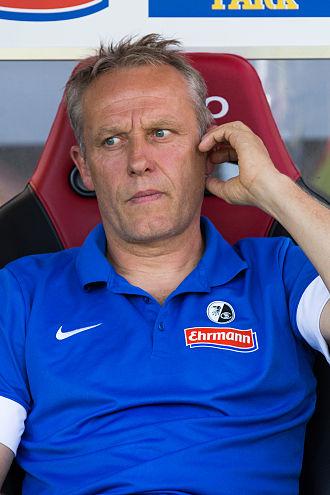 Christian Streich - Image: SC Freiburg vs FSV Mainz 17 août 2013 53
