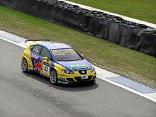 Photo d'une Seat Leon S2000 en course.